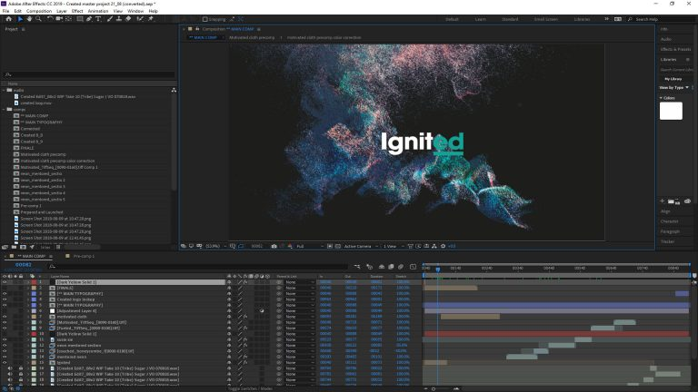 After Effects Overview