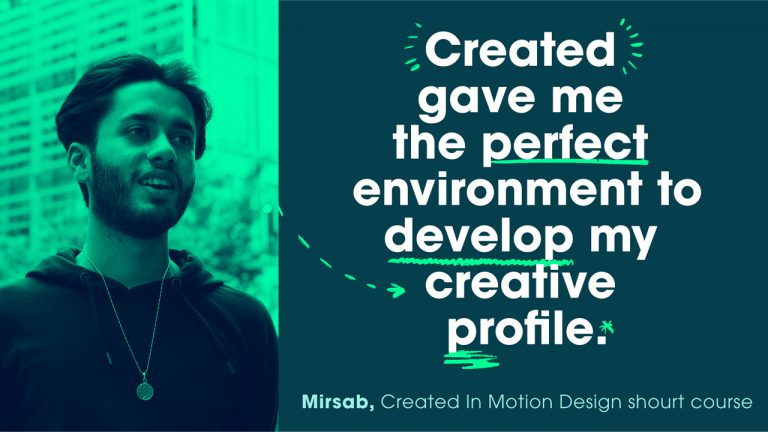 Created gave me the perfect environment to develop my creative profile