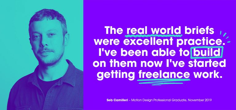 Seb Camilleri, Motion Design Professional, Created