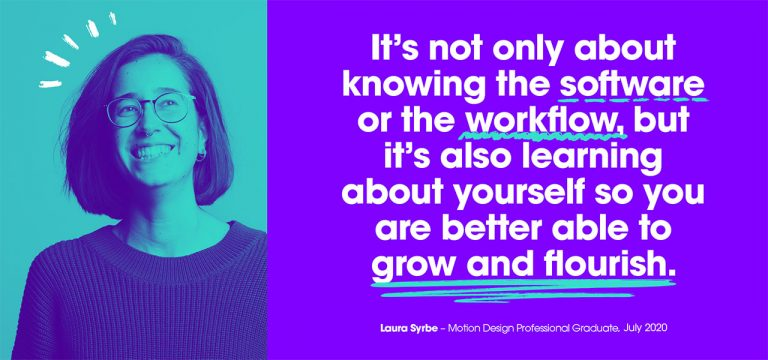Laura Syrbe, Motion Design Professional, Created