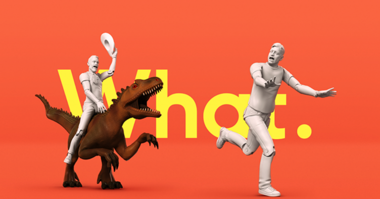 Example of Toyfight branding, a creative business