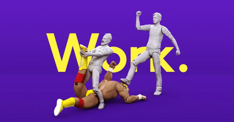 Toyfight branding Work